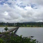 Puente que cruza el país
