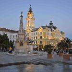 Atardecer en la Plaza Széchenyi, Pécs